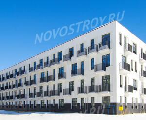 Малоэтажный ЖК «Южная Долина»: ход строительства корпуса №10