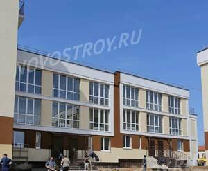 Малоэтажный ЖК «Малина»: ход строительства корпуса №1.2