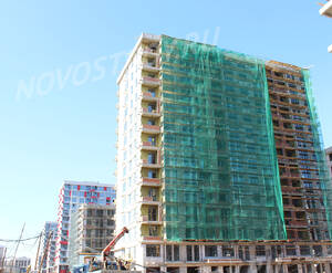 ЖК «Испанские кварталы»: ход строительства дома №14.2