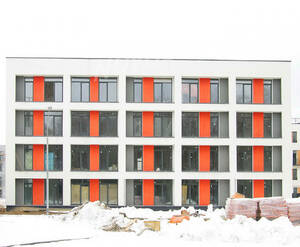 Малоэтажный ЖК «Южная Долина»: ход строительства корпуса №5