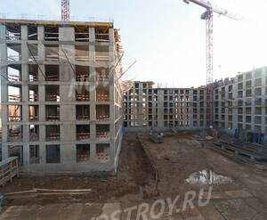 ЖК «Домашний»: ход строительства 2 очереди, корпус №2
