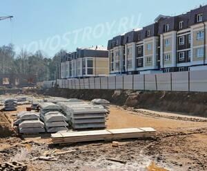 Малоэтажный ЖК «Театральный парк»: ход строительства корпуса №30