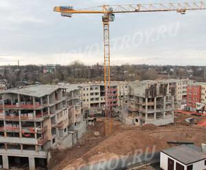 Малоэтажный ЖК «Донской» (Сергиев-Посад): ход строительства корпуса №4
