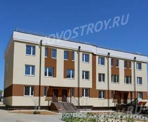 Малоэтажный ЖК «Малина»: ход строительства корпуса №1.3