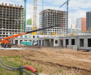 ЖК «Бунинские луга»: ход строительства корпуса №1.2.1