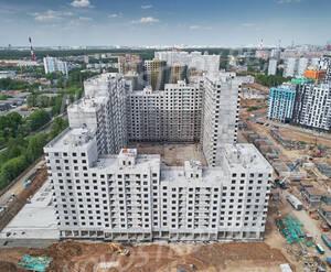 ЖК «Лучи»: ход строительства корпуса №1