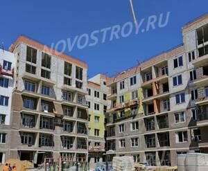 ЖК «Императорские Мытищи»: ход строительства корпуса №18