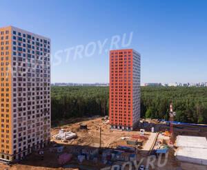 ЖК «Саларьево Парк»: ход строительства корпуса №8