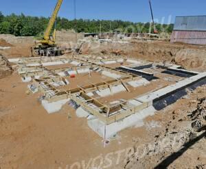 Малоэтажный ЖК «Театральный парк»: ход строительства корпуса №13