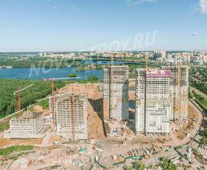 МФК «Спутник»: ход строительства 1 очереди