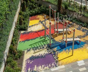 ЖК «Wellton Park»: благоустройство придомовой территории