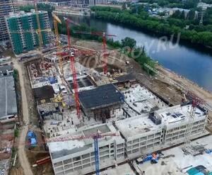 ЖК «Береговой» (Филёвский парк): скриншот с видеообзора