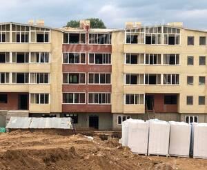 Малоэтажный ЖК «Донской» (Сергиев-Посад): ход строительства корпуса №5