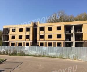 Малоэтажный ЖК «Дмитровские горизонты»: ход строительства (7 корпус)