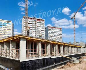 ЖК «Новотомилино»: ход строительства корпуса №1