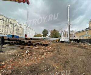 ЖК Armani / Casa Moscow Residences: ход строительства