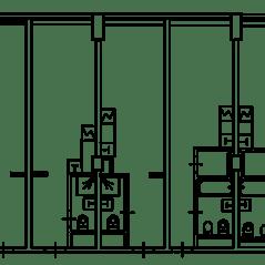 Апарт-отель «Red Star Лофт», планировка студии, 25.10 м²