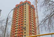 Строительство ЖК «Дом на улице Шаталова»: выполнена кирпичная кладка наружных стел