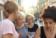 За день дольщики «Царицыно» успели и посетить ФСБ, и провести пикет у «Промсвязьбанка»