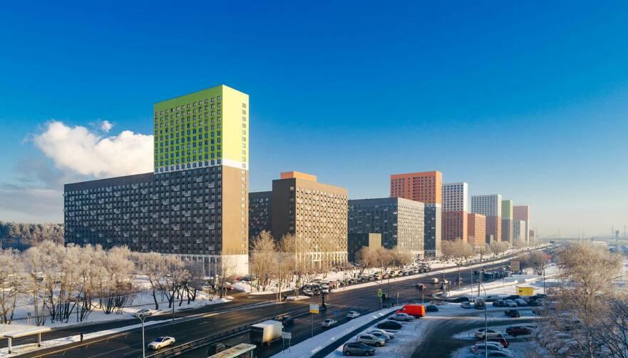Несмотря на «ударную стройку» Новая Москва теряет спрос на жильё. Количество сделок упало на 8%